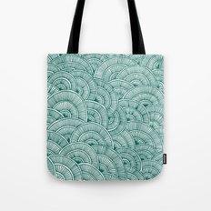 Swirls Green Tote Bag