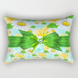 Just Daisies Rectangular Pillow