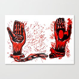 Unchained Canvas Print