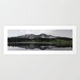 Mirror Lake, Colorado Art Print