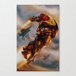 YEAH, I CAN FLY Canvas Print