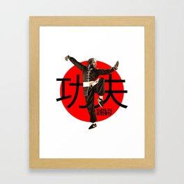 KUNG FU---KENNY IV Framed Art Print