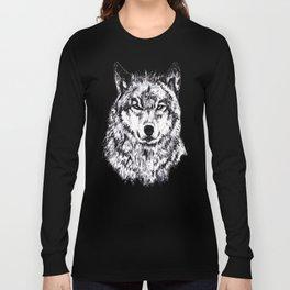 Wolf - Black 'n White Long Sleeve T-shirt