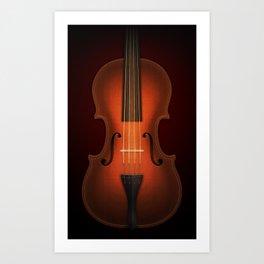 Straordinarius Stradivarius Art Print