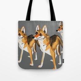 Senegalese Wolf in grey Tote Bag