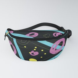 90s pattern wham! Fanny Pack