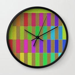 New Colors Wall Clock