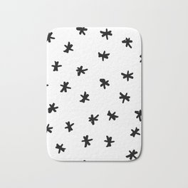 Asterisk Party Bath Mat