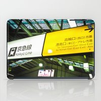 subway iPad Cases featuring Subway by rgbtimesthree