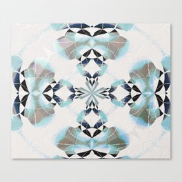 Healing Sky Cloud Mandala Canvas Print