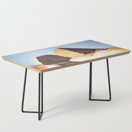 The Great Sphinx And Pyramid Coffee Table