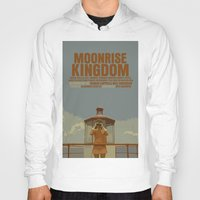 moonrise kingdom Hoodies featuring Moonrise Kingdom by FunnyFaceArt
