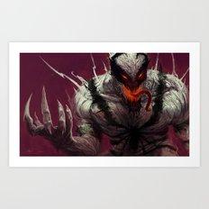 Anti-Venom Art Print