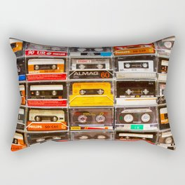 Something Nostalgic V - Music - Global Language #decor #society6 #buyart Rectangular Pillow