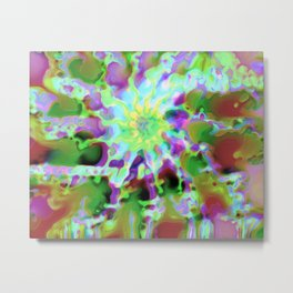 Abstract Dreamer Metal Print