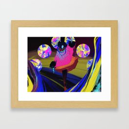 Electric Witch Framed Art Print