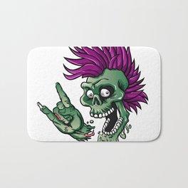 Punk zombie Bath Mat