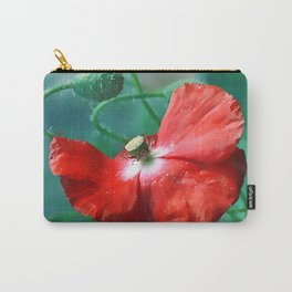 Poppies(light)3 Carry-All Pouch