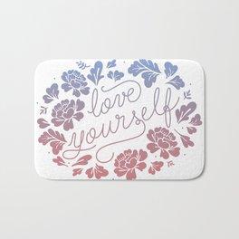 Love yourself color Bath Mat