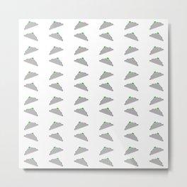 Flying saucer 3 Metal Print