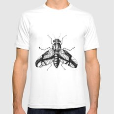 Bumblebee  Mens Fitted Tee White MEDIUM