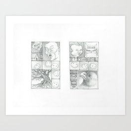 Watch and Wait Art Print