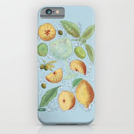 Gin and tonic iPhone Case