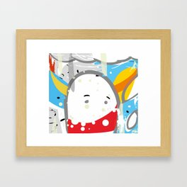 cotton chick #1 Framed Art Print