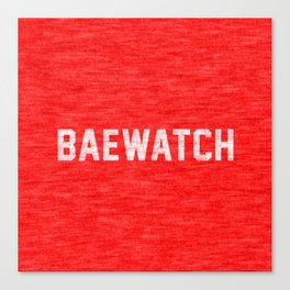 Baewatch Canvas Print