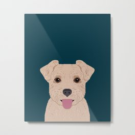 Blair - Norfolk Terrier gifts for dog lovers and pet owner gift ideas. Dog people gifts Metal Print