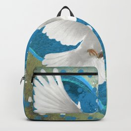 Bird of Peace and Love Backpack