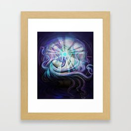 Sleepy Desolation Framed Art Print