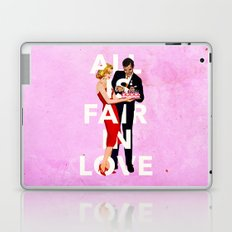 All Is Fair In Love Laptop & iPad Skin