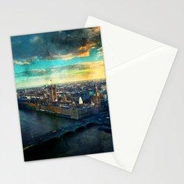 thames-london-river-uk-city Stationery Cards