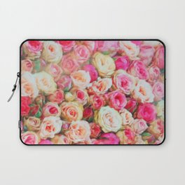 Roses:  I love you this much! Laptop Sleeve
