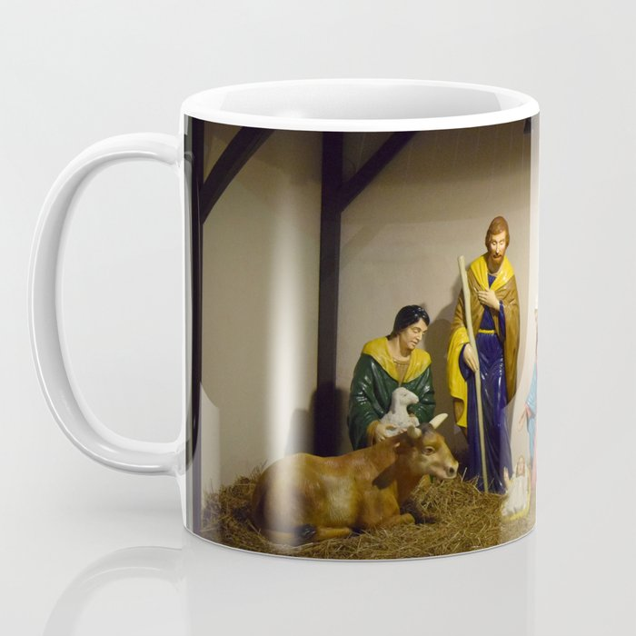 Nativity Scene Coffee Mug By Sarahshanely Society6