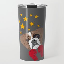 Hit Me With Your Best Shot Boxer - Dog Travel Mug