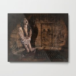 Anguish Metal Print