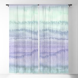 WITHIN THE TIDES - SPRING MERMAID Sheer Curtain