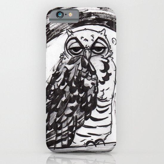 Night Owl v.1 iPhone & iPod Case