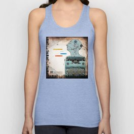 Static Grate 289 Unisex Tank Top