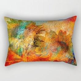 sunflower vintage Rectangular Pillow