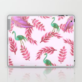 Flamingo rose Laptop & iPad Skin