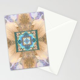 Eternal Bliss Meditation Mandala Stationery Cards