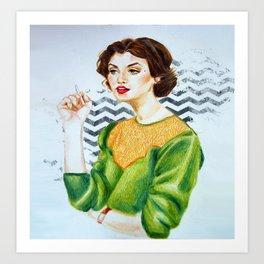 Audrey Horne (Twin Peaks) Art Print