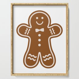 Gingerbread Hugs Serving Tray