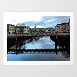 Cork City II Art Print