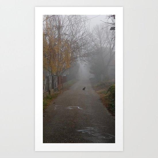 Catmosphere Art Print