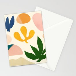 Abstraction_Floral_001 Stationery Cards