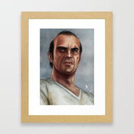Trevor Phillips  Framed Art Print